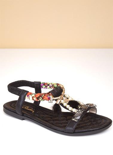 Pierre Cardin Sandalet Siyah